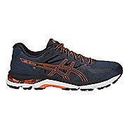 Mens ASICS GEL-Glyde Running Shoe - Blue/Black/Orange 9.5