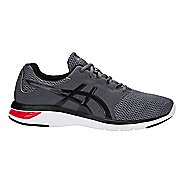 Mens ASICS GEL-Moya Running Shoe - Carbon/Red 10.5