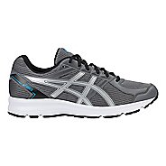 Mens ASICS Jolt Running Shoe - Carbon/Silver/Blue 10