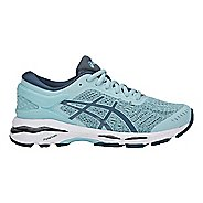 Kids ASICS GEL-Kayano 24 Running Shoe - Porcelain Blue/White 4Y