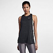 Womens Nike Dry Medalist Split Sleeveless & Tank Technical Tops - Black XL