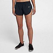 Womens Nike Flex High Cut Elevate Lined Shorts - Black L