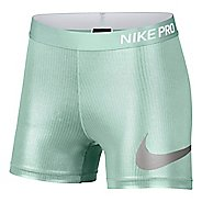 "Womens Nike Pro Rise 3"" Compression & Fitted Shorts"