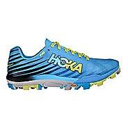 Mens Hoka One One Evojawz Track and Field Shoe - Cyan/Citrus 8.5