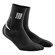 Mens CEP Ortho+ Ankle Support Short Socks Injury Recovery - Black XL