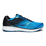 Mens Saucony Breakthru 4 Running Shoe - Blue/Black 11.5