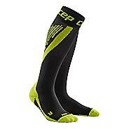 Mens CEP Progressive+ Nighttech Socks Injury Recovery - Black/Green L