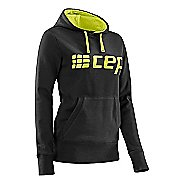 Womens CEP Hoodie Half-Zips & Hoodies Technical Tops - Black/Lime Green M
