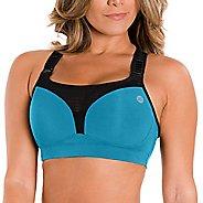 Womens Zensah High Impact Sports  Bras - Turquoise 34D