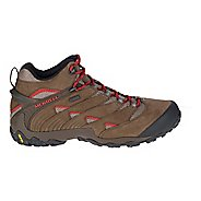 Mens Merrell Chameleon 7 Mid Waterproof Hiking Shoe - Red 8.5