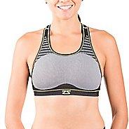 Womens Zensah POP Seamless Sports Bras - Grey L/XL