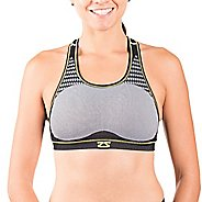Womens Zensah POP Seamless Sports Bras - Grey M/L