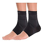 Zensah Compression Ankle Supports (Pair) Injury Recovery