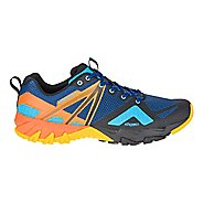 Mens Merrell MQM Flex Hiking Shoe - Blue/Black 7.5