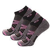 Zensah Wool Running 3 Pack Socks