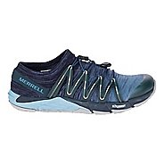 Womens Merrell Bare Access Flex Knit Running Shoe - Navy 9