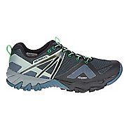 Womens Merrell MQM Flex Hiking Shoe - Grey/Black 7.5