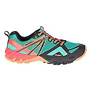 Womens Merrell MQM Flex GORE-TEX Hiking Shoe - Fruit Punch 10