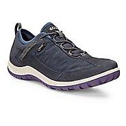 Womens Ecco Aspina Navy Textile GTX Casual Shoe - Navy/True Navy 40