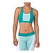 Womens ASICS Color Block Sports Bras - Lake Blue L