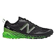 Mens New Balance Summit Unknown Trail Running Shoe - Black/Lime 9.5
