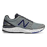 Mens New Balance 680v5 Running Shoe - Steel/Pacific 8.5