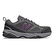 Womens New Balance 627v2 Walking Shoe - Grey/Pink 5