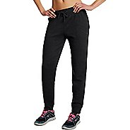 Womens Champion Fleece Jogger Pants - Black M