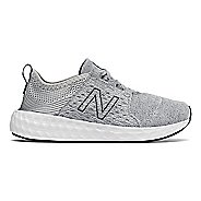Kids New Balance Fresh Foam Cruz v1 Running Shoe - Silver/Outerspace 2.5Y