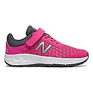 Kids New Balance Kaymin v1 Running Shoe - Pink/Thunder 8C