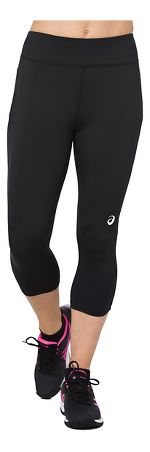 Womens ASICS Knee Tight Crop Tights