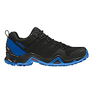 Mens adidas Terrex AX2R GTX Hiking Shoe - Black/Blue 8.5