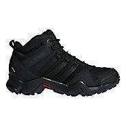 Mens adidas Terrex AX2R Mid GTX Hiking Shoe - Black/Black 9.5