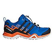 Mens adidas Terrex Swift R2 GTX Hiking Shoe - Steel/Black/Orange 8