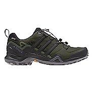 Mens adidas Terrex Swift R2 GTX Hiking Shoe - Black/Green 9.5