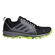 Mens adidas Terrex Tracerocker Trail Running Shoe - Black/Carbon/Grey 10.5