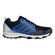 Mens adidas Terrex Tracerocker Trail Running Shoe - Navy/Grey 6.5