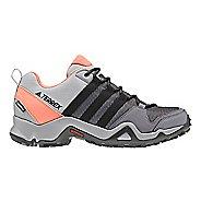 Womens adidas Terrex AX2 CP Hiking Shoe - Grey/Black/Coral 7