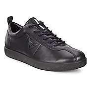 Womens Ecco Soft 1 Sneaker Casual Shoe - Black 4.5