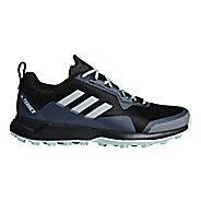 Womens adidas Terrex CMTK Trail Running Shoe - Black/White/Green 6.5