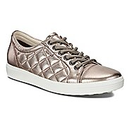 Womens Ecco Soft 7 Quilted Casual Shoe - Warm Grey 10.5