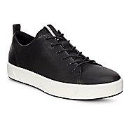 Womens Ecco Soft 8 Tie Casual Shoe - Black 10.5