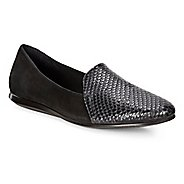 Womens Ecco Touch Ballerina 2.0 Scale Casual Shoe - Black Silver/Black 5.5