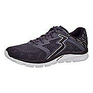 Mens 361 Degrees Spinject Running Shoe - Ebony/Black 7