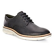 Mens Ecco Aurora Tie Casual Shoe - Black/Black 42