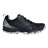Womens adidas Terrex Tracerocker GTX Trail Running Shoe - Black/Green 10.5