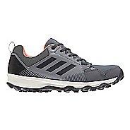 Womens adidas Terrex Tracerocker GTX Trail Running Shoe - Grey/Coral 8.5