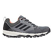Womens adidas Terrex Tracerocker GTX Trail Running Shoe - Grey/Coral 9