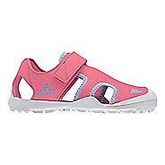 Kids adidas Captain Toey Sandals Shoe - Pink/Blue/Grey 6Y