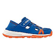 Kids adidas Terrex Tivid Shandal CF Sandals Shoe - Blue/Orange/White 6.5Y